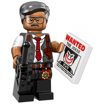 Mini Figurine Lego® The Batman Movie : Commissaire Gordon