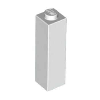 LEGO 6055541 BRIQUE 1X1X3 - BLANC