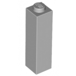 LEGO 6061702 BRIQUE 1X1X3 - MEDIUM STONE GREY