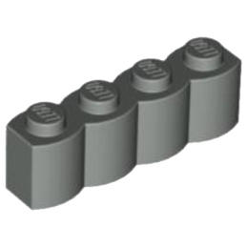 4268139 - Palisade Brique 1X4 - Gris Foncé
