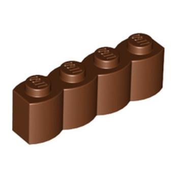 LEGO 4211181 PALISADE BRICK 1X4 - REDDISH BROWN