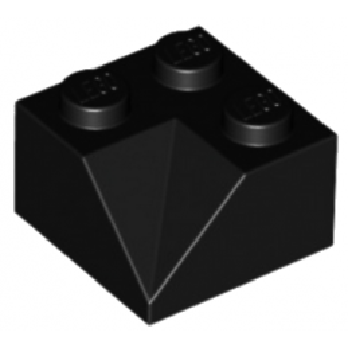 LEGO 4143685 TUILE 2X2/45° INSIDE - NOIR