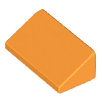 LEGO 4648855 TUILE 1 X 2 X 2/3 - ORANGE