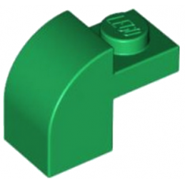 LEGO 6100223 - BRIQUE ARCHE 1X1X1 1/3 - DARK GREEN