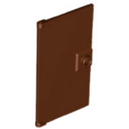 6126109 -  GLASS DOOR FOR FRAME 1X4X6 - Marron