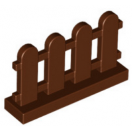 6150305 - Clôture 1x4x2 - Marron lego-6150305-cloture-barriere-1x4x2-reddish-brown ici :