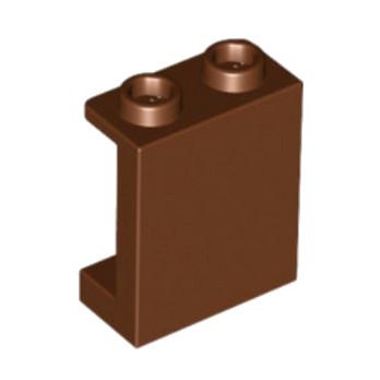 LEGO 4618541 MUR / CLOISON  1X2X2 - REDDISH BROWN