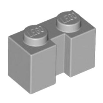 LEGO 4541224  BRIQUE 1X2 W - MEDIUM STONE GREY lego-4617170-brique-1x2-w-medium-stone-grey ici :