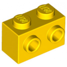 LEGO 6119197 BRIQUE 1X2 W. 2 KNOBS - JAUNE