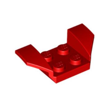 LEGO 6109466 GARDE BOUE 2X4 - ROUGE