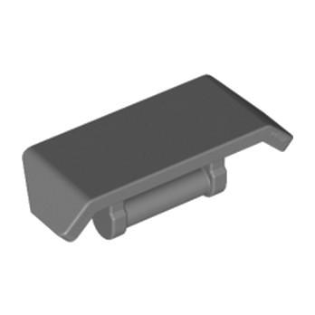 LEGO 6124820 SPOILER W. SHAFT Ø 3.2 - DARK STONE GREY lego-6124820-spoiler-w-shaft-o-32-dark-stone-grey ici :