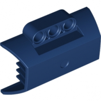 6127030 -  DESIGN SHELL W. RIBS Ø4.85  - Bleu Marine