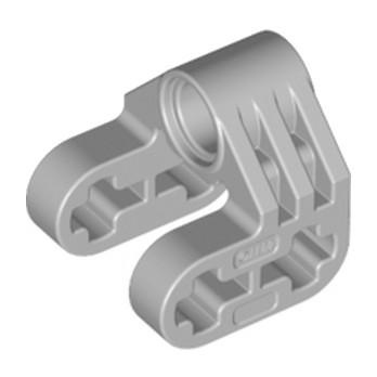 LEGO 6279023 CROSS BLOCK/FORM 2X2X2  - MEDIUM STONE GREY