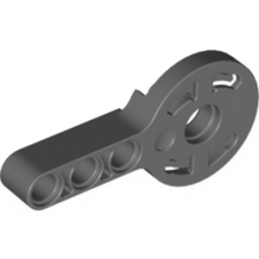 LEGO 4182751 - FLEX JOINT 6M, Ø24, MALE  - Dark Stone Grey