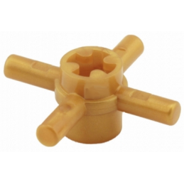 LEGO 4587274 COMBI HUB W. STICK Ø 3.2 - WARM GOLD