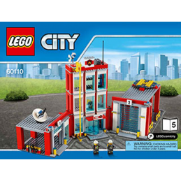 Notice / Instruction Lego City 60110