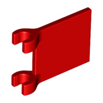 6011814 -  Drapeau 2X2- Rouge