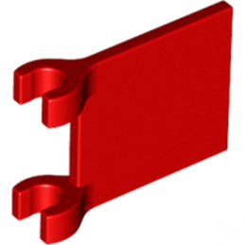 LEGO 6011814 DRAPEAU 2X2 - ROUGE