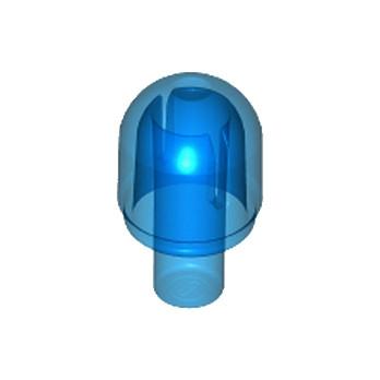 LEGO 4497952 EMBOUT ARRONDI - BLEU FONCE TRANSPARENT