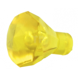 LEGO 4128576 DIAMANT - JAUNE TRANSPARENT