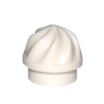 6102794 - Embout Décoration Tourbillonnant - Blanc