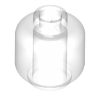 LEGO 6168665 MINI HEAD - TRANSPARENT