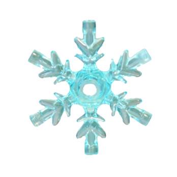 LEGO 6278421 STARFLAKE - TRANSPARENT BLUE