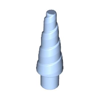 LEGO 6356873 CORNE SPIRALE 1.5 CM -  LIGHT ROYAL BLUE
