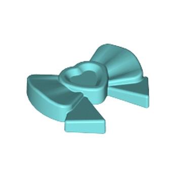 LEGO 6023825 ACCESSOIRE DE COIFFURE / NOEUD - MEDIUM AZUR 6023825-noeud-coiffure-bleu-azur ici :