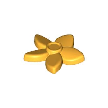 LEGO 6097098 - Fleur / Coiffure - Flame Yellowish Orange