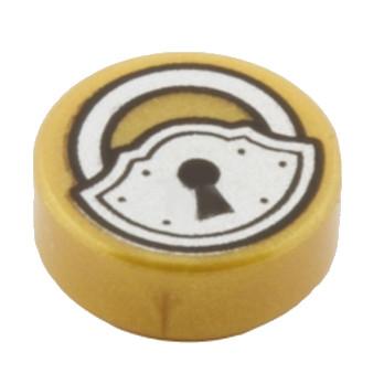 LEGO 6039771 SERRURE 1X1 - WARM GOLD