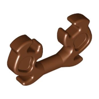 LEGO 6116638 ACCESSOIRE DECO POUR CASQUE - REDDISH BROWN