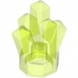 LEGO 4540417 ROCK CRYSTAL - JAUNE FLUO TRANSPARENT