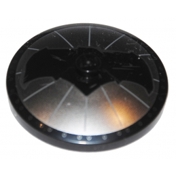 6141779 - Parabol/Disque 4X4 - Noir - Batman