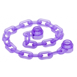 LEGO 6097525 CHAINE 16M - VIOLET TRANSPARENT