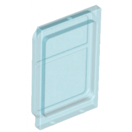 6074032 - Fenetre pour Porte de Train - Bleu Transparent
