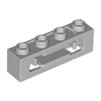 LEGO 6096150 LANCEUR DISQUE 1X4 - MEDIUM STONE GREY