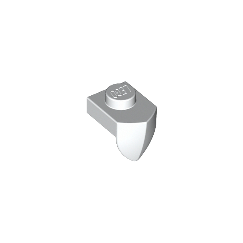 6046905 - Dent / Griffe Verticale 1X1 - Blanc