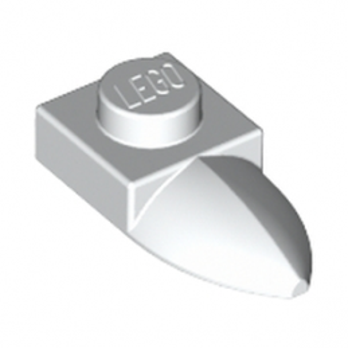 LEGO 4224792 DENT / GRIFFE 1X1 - BLANC