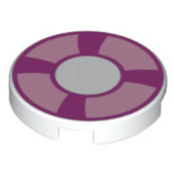 6052202 - Plate 2X2 - Boué de sauvetage