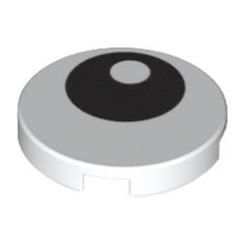 6060734 - Plate 2X2 - Oeuil lego-6060734-imprime-2x2-oeiil ici :