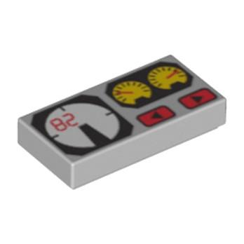 LEGO 4227776 IMPRIME 1X2 - COMPTEUR
