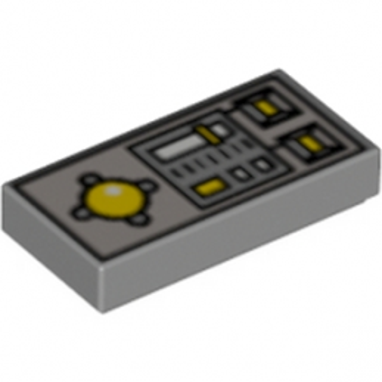 4221879 - Plate 1X2  - Telecommande