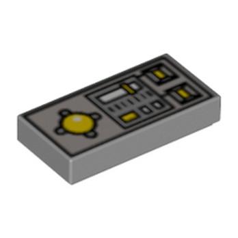 LEGO 4221879 TELECOMMANDE 1X2 - IMPRIME
