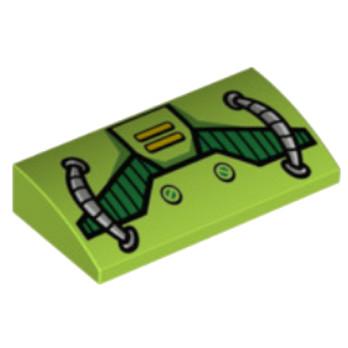 LEGO 6147011  IMRIME 4X2 2/3 - BRIGHT YELLOWISH GREEN