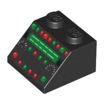 LEGO4551168 PANNEAU CONTROLE - NOIR