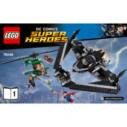 Notice / Instruction Lego Ser Heroes Marvel 76046