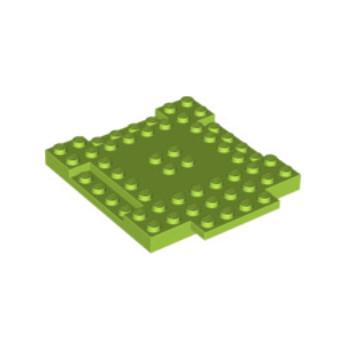 LEGO 6055164 PLAQUE 8X8X6 - BRIGHT YELLOWISH GREEN