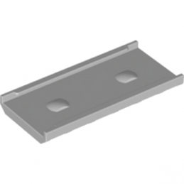 4565430 - PLAQUE 2X6 W. SUPPORT POUR ECHELLE - GRIS MEDIUM