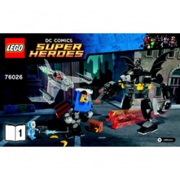 Notice / Instruction Lego Super Heroes  76026
